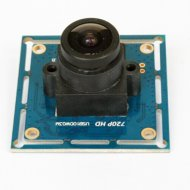 Wide angle USB 720P Camera Module with fisheye 170 degree lensfor monochrome stereo