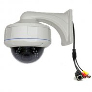 Outdoor Wall bracket IR LED Day&night Dome IP Camera