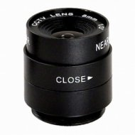 Manual Aperture 8.0mm F1.2 1/3 inch CS Security CCTV Video Camera LENS