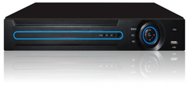 4-Channel H.264 AHD Digital Video Recorder, 120fps Display Frame ...