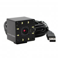 Sony IMX214 auto focus usb webcam with white led & Industrial Mini black metal box housing