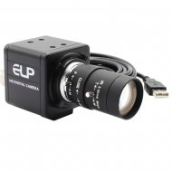 ELP AR0331 3MP WDR zoom USB CCTV Camera with 5-50mm varifocal lens for machine vision