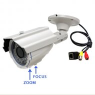 Waterproof IR Day&Night Zoom&Focus Varifocal Bullet Network IP Camera