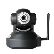 Indoor Robot rotate 720P Dome Wireless IP Camera
