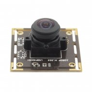 ELP H.264 1080P Sony IMX 322 uvc cmos usb wide angle camera module with microphone for industrial