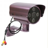 Outdoor waterproof Array LED long distance Bullet IP Camera