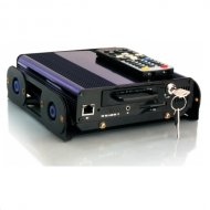 4CH Hard Disk Recording Mobile DVR with WIFI and GPS function optional