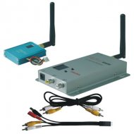 12CH 400mW Wireless AV Transmitter, Frequency: 2.2G/2.3G/2.4G, No obstructive Effective Range is 500