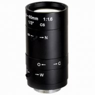 Manual Aperture Varifocal Zoom 6-60mm F1.4 1/3 inch CS Security CCTV Video Camera LENS
