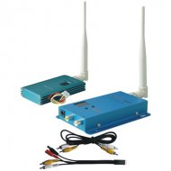 12CH 1500mW Wireless AV Transmitter, Frequency: 1.4G/1.5G/1.6G, No obstructive Effective Range is 1