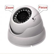 HD 1200TVL Waterproof&Vandal resist Varifocal Dome Camera