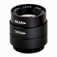 Manual Aperture 6.0mm F1.2 1/3 inch CS Security CCTV Video Camera LENS