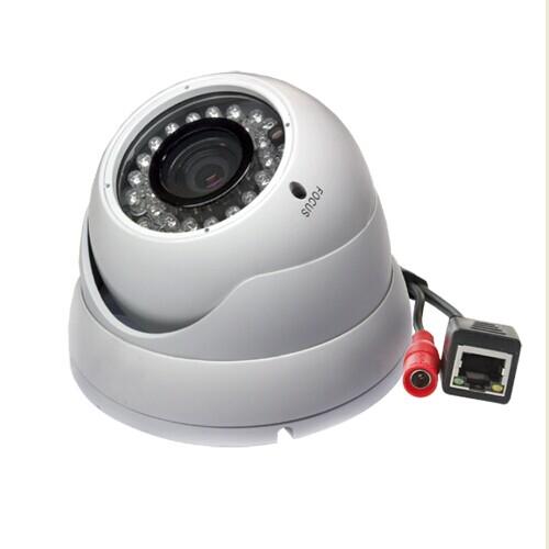 IR LED Waterproof&Vandal resist Varifocal dome IP Camera support ...