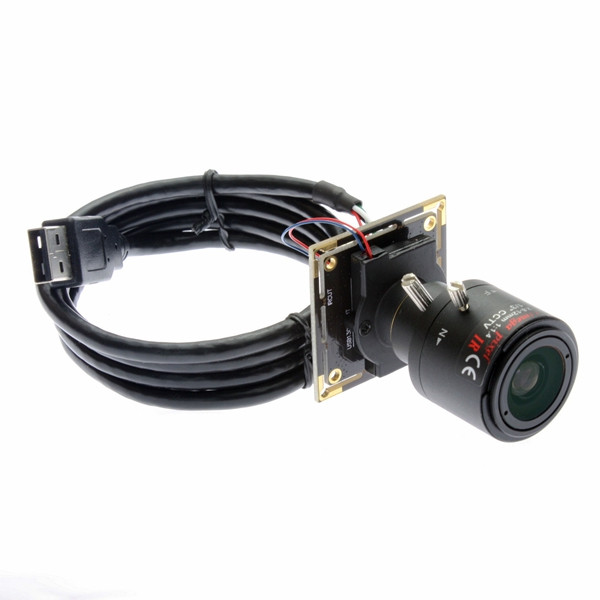 960H varifocal Low Lllumination HD Usb Camera USB2.0 AR0130 Sensor ...