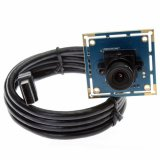 170 degree Fisheye lens OTG VGA USB Camera Module Support YUY and MJEG